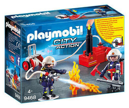 Playmobil Firefighters with Water Pump - $33.16
