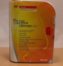 Microsoft Office Ultimate 2007 Upgrade, Brand New Retail Version, PN 76H... - $98.95