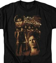 The Warriors t-shirt retro 70s cult film Michael Beck Swan graphic tee PAR490 image 3