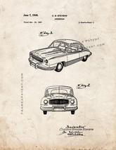 Automobile Patent Print - Old Look - $7.95+