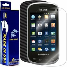 Armorsuit Militaryshield Samsung Galaxy Appeal Screen + Black Carbon Fiber Skin - $32.99