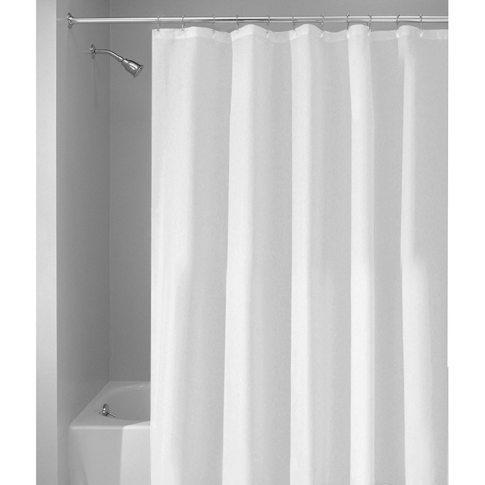 InterDesign Poly Shower Curtain/Liner -  Extra Long 72 x 96 Inch