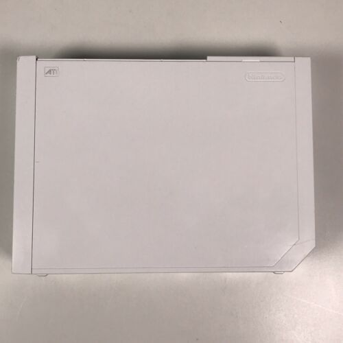 Nintendo Wii White Replacement Console Only RVL-001 GameCube Compatible Tested