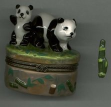 PANDA BEAR HINGED BOX - £8.48 GBP