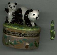 PANDA BEAR HINGED BOX - $11.00