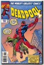 Deadpool #11 1997- Amazing Fantasy #15 cover swipe- VF - $44.14