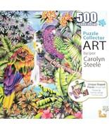 ART Jigsaw Puzzle Jungle Parrots 500 pieces 18x24 New Sealed - $29.50