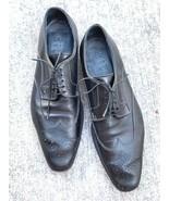 Giorgio1958 Men's Leather Handmade Shoes Italy Wingtip Perf EU 43.5 US10... - $79.00