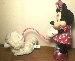 Disney Minnie Mouse Walk & Play Puppy Dog battery operated - $28.71