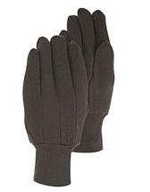 New Handmaster Brown Men's Jersey Cotton Utility Gloves L or XL Single P... - $91,18 MXN