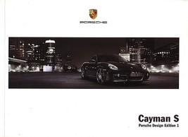 2008 Porsche CAYMAN S DESIGN EDITION 1 brochure catalog US 08 - $20.00
