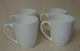 Gorham Boulder Creek White Mug 1831 Bone China Lot of 4 Mugs  - $44.54