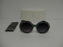 Femmes Prada Lunettes de Soleil Rondes avec Émaillé Style Spr29qsk Tkf-Oa7 - $251.81