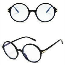 New Fashion Nerd Style Round Clear Lens Glasses Frame Retro Casual Daily Eyewear image 2