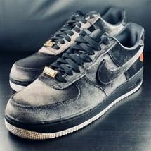 NEW Nike Air Force 1 '07 QS Black Velvet Rose AF1 Sneakers AH8462-003 Si... - $118.79