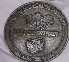 Solid Iron Bar Coasters - 2001 SMCO (Foundry) Coasters - $11.50
