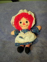 "PLAYSKOOL RAGGEDY ANN PLUSH DOLL 8.5"" TALL VGC CUTE - $9.46"