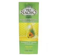 Tio Nacho Mexican Herbal Hair Strengthening Shampoo 415ml - Herbolaria M... - $27.00