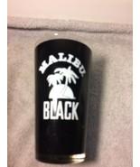 MALIBU BLACK  RUM PINT GLASS----FREE SHIP--VGC - $19.01