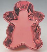 Gingerbread Man Metallic Candy Dish - $24.88