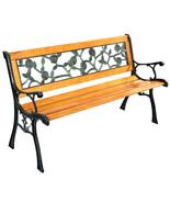 "GOPLUS 49 1/2"" Patio Park Garden Porch Chair Bench - $197.42"