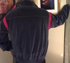 Perry Ellis America ZIP Fleece Warm-Up Jacket Gray & Red Size XL NEW WOT - $15.14