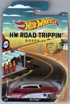 Hot Wheels So Fine Road Trippin' Route 66 Walmart #BDK79 New NRFP White/... - $10.95