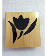Anita's Wood Stamps: Tulip - $0.99