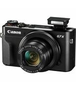 Canon G7X Mark II Power Shot 20.1MP Digital Camera Mark2 MK2 (Black) No ... - $389.00