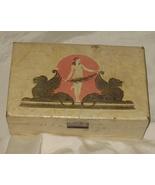 Antique 1920's Art Nouveau Jewelry box, - $149.75