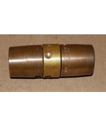 """Red Head Brass Bar Way Hole Type Booster Coupling 1"""" Hose ID 1-5/16"""" OD ... - $48.49"""