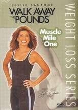 Leslie Sansone - Walk Away the Pounds - Muscle Mile One [DVD - Brand New] - $9.99