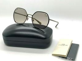 Neu Coach Sonnenbrille HC7095H (L1090) 9333/3 Antik Gold 57-17-140MM - $77.10
