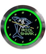 "Pool Shark ManCave Neon Clock 15""x15"" - $59.00"
