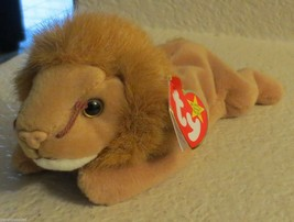 Ty Beanie Baby Roary 4th Gen Hang Tag PVC Filled NEW - $9.89