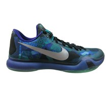 Nike Kobe X Overcome Emerald Purple Basketball Shoes Size 8.5 Mens 70531... - $59.35