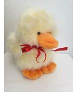 A&A Plush Duck Duckling Fuzzy Fluffy Stuffed Animal Yellow Orange Feet Beak - $29.68