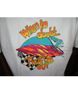 When in Doubt Throttle Out T-Shirt Adult Large - $19.50