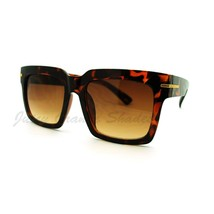 Oversized Square Sunglasses Super Retro Fashionable Stylish Shades - $7.15