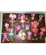 Lalaloopsy Full Size Doll Lot with Extras, Clothes and Shoes - $48.19