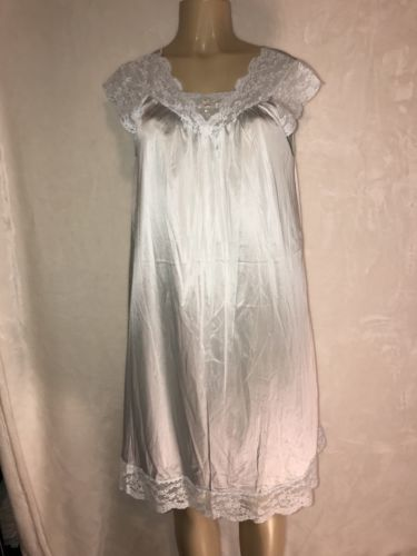 d56335c8d91 Shadowline Pale Blue Nightgown Negligee Lace and 29 similar items