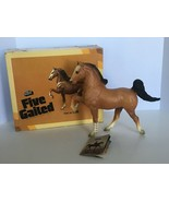 Breyer Traditional Horse Five Gaited Ribbon Hair No 52 Sorrel Original Box - $33.99