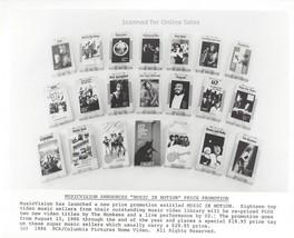 Music in Motion The Monkees U2 Rick Springfield Pavarotti 8x10 Photo - $9.99