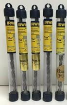 """(New) Irwin 326009  5/16""""  Hammer Drill Bit  Pack of 5 - $24.74"""