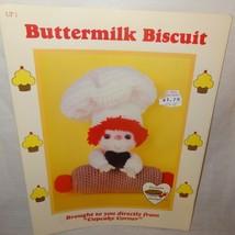 Buttermilk Biscuit Doll Pattern Cupcake Corner Dumplin Designs Crochet 1... - $9.99
