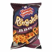 1 Bag Humpty Dumpty Ringolos Bbq Large Size 280g From Canada Fresh & Tasty! - $13.61