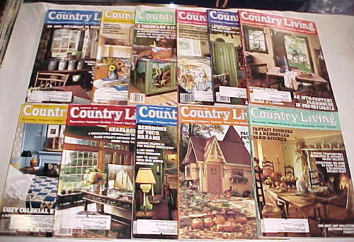Primary image for (11) COUNTRY LIVING-1994-JANUARY-NOVEMBER-COUNTRY STYLE DECORATING/ REMODELING