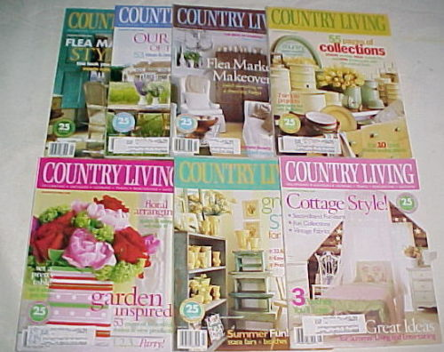 Primary image for 7) COUNTRY LIVING-2003-JANUARY-AUGUST-COUNTRY STYLE DECORATING/REMODELING IDEAS