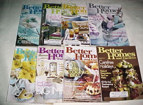 Primary image for BETTER HOMES AND GARDENS 2004-APRIL-NOVEMBER-QUILTS,GARDENS,DECORATING;8 ISSUES!