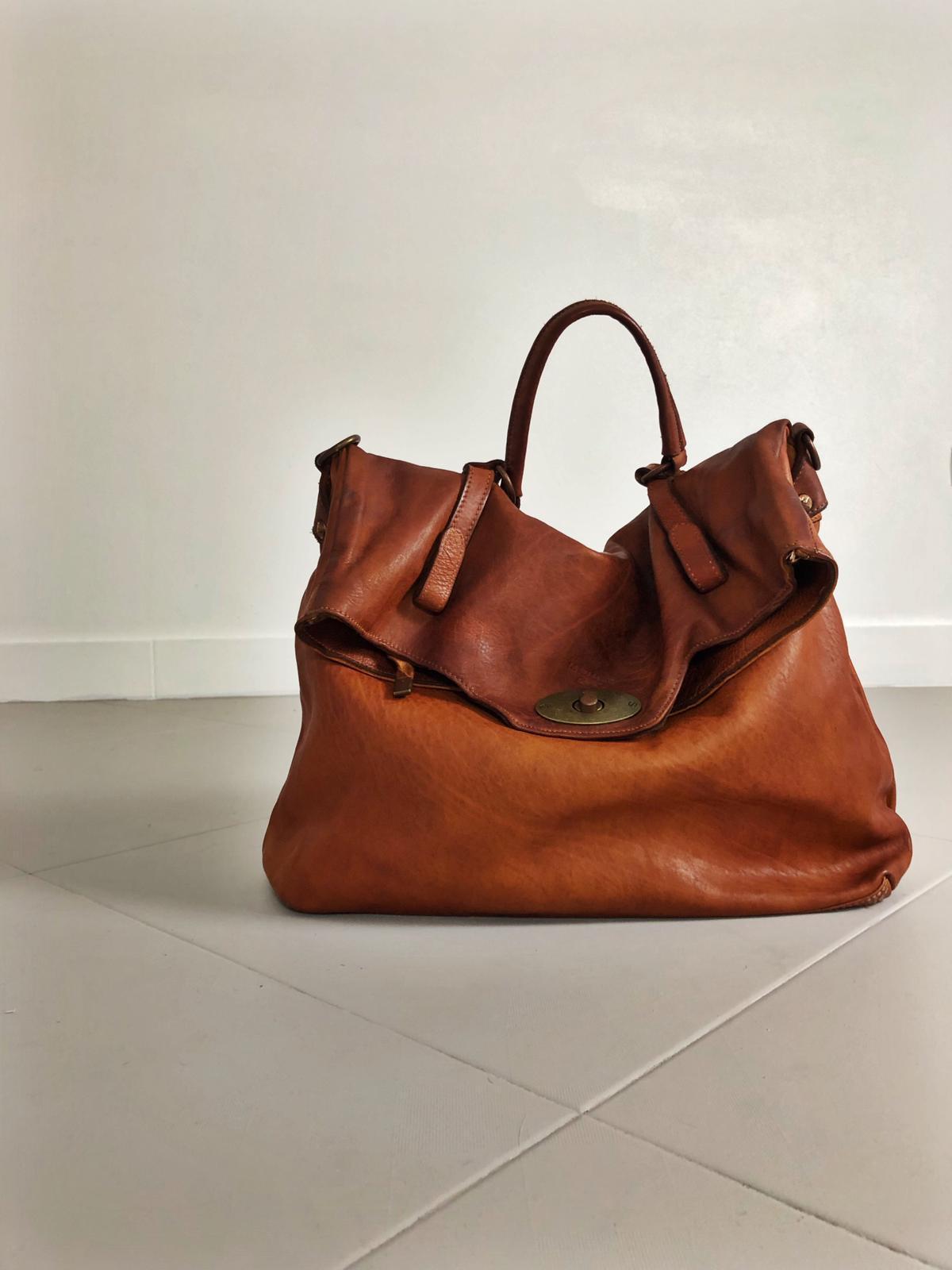 MAIL BAG handmade leather bag